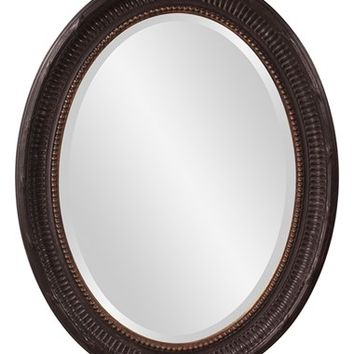 Howard Elliott Collection 'Nero' Distressed Wood Mirror