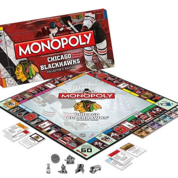 Monopoly Chicago Blackhawks
