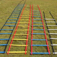 4 Meter 8-Rung durable flat  Speed Agility Ladder  Soccer Speed Training equipment ladder