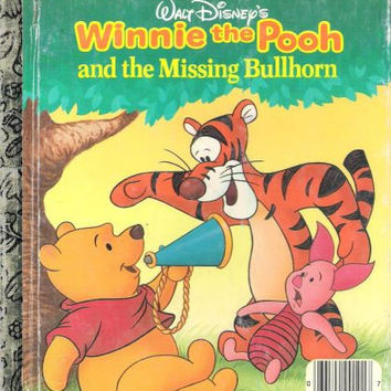 Walt Disney's Winnie the Pooh and the missing bullhorn (A Little golden book)