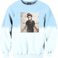 Justin Bieber Body Ombre Crewneck Sweater.