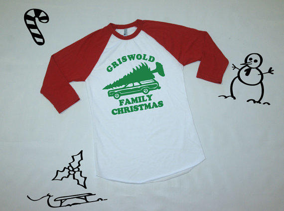 Griswold Family Christmas baseball shirt. from owltheshirtsyounee