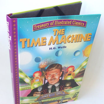 Ereader Cover for Kindle Nook Kobo Time Machine by retrograndma