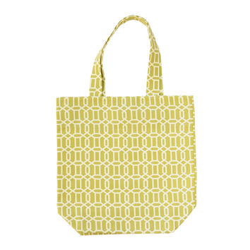Interlocking Geometry Tote