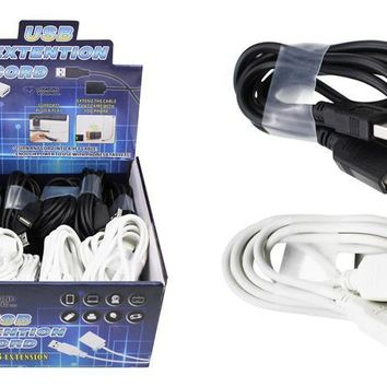 6' USB Extension Cord - CASE OF 24