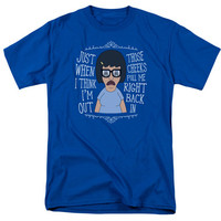 Bob's Burgers Tina Those Cheeks Pull Me Back In Tshirt