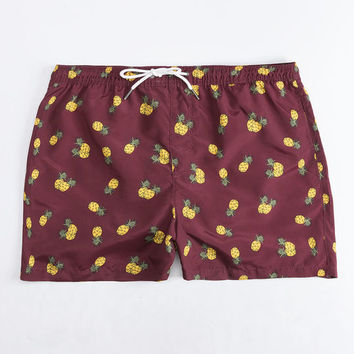 JACK & JONES Pineapple Mens Volley Shorts