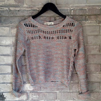 Ocean Side Loose Knit Sweater