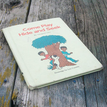 Vintage book Come Play Hide and Seek By Margaret Gles 1975