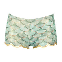 Mermaid Bikini shorts