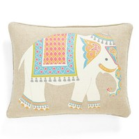 Levtex 'Florence Elephant' Accent Pillow - Brown