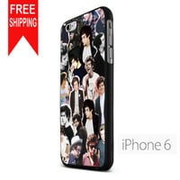 Harry Style Art Collage Mch FDL iPhone 6 Case