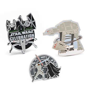 Star Wars Collectible Enamel Pin Set - Exclusive