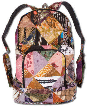 Aerial Patchwork Backpack: Soul-Flower Online Store