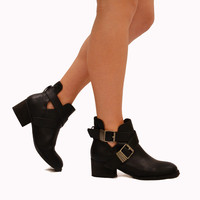 Dark Knight Bootie - Black