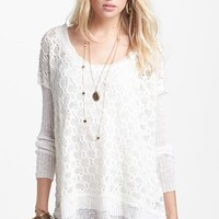 Free People Textured Pullover   Nordstrom