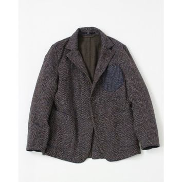 Indigo Kuba Tweed Jacket