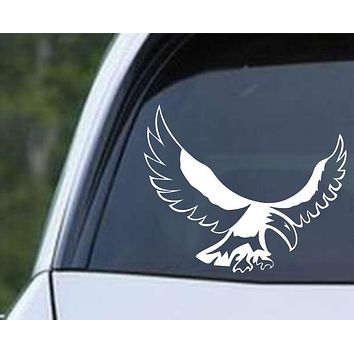 Native American Eagle Die Cut Vinyl Decal Sticker