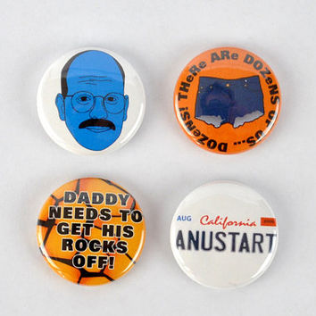 "Tobias Funke Buttons - ""I'm afraid I just blue myself"" Arrested Development badges- David Cross Fünke"