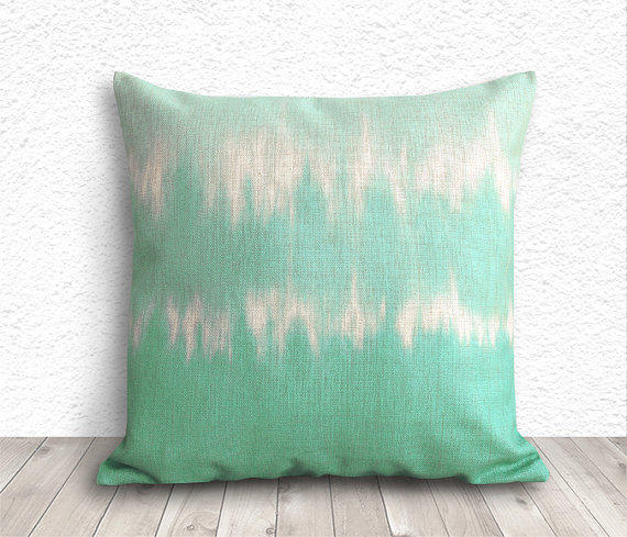 How To Make A Tie Throw Pillow : Tie Dye Pillow Covers, Pillow Cover, from 5CHomeDecor on Etsy