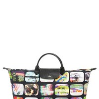 Longchamp 'Jeremy Scott - TV Screens' Print Duffel | Nordstrom
