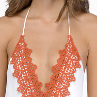 Blue Life Mirage Halter One Piece $154