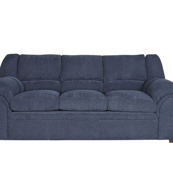 Big Ben Transitional Sofa Indigo