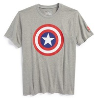 Under Armour 'Alter Ego - Captain America' HeatGear T-Shirt (Little Boys