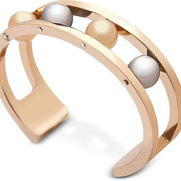 Federica Tosi Two Tone Ball Bangle