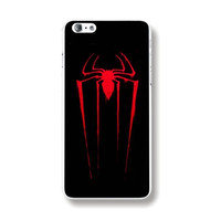 Individualistic Spiderman Logo Black Rigid Plastic Phone Case Cover Shell for iPhone 6 6s 4.7'' Inch