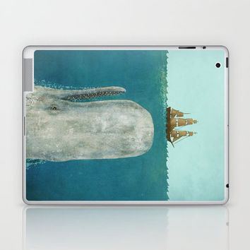 The Whale  Laptop & iPad Skin by Terry Fan