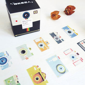 Love Cameras washi masking tape mt