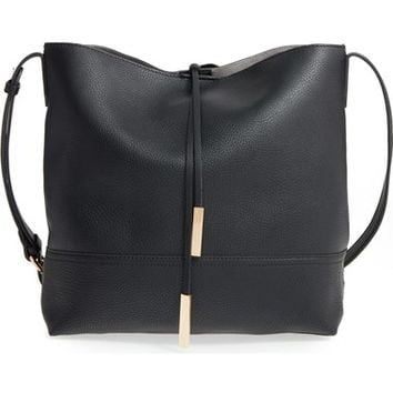 Street Level Faux Leather Bucket Bag | Nordstrom