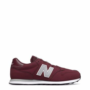New Balance  Men Red Sneakers