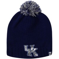 '47 Brand Kentucky Wildcats Ladies Sparkle Knit Beanie - Royal Blue