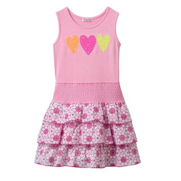 Design 365 Sequin Heart Dress - Toddler Girl, Size: