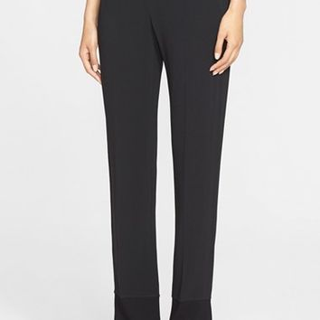 Women's Helmut Lang Stretch Knit Trim Pants,