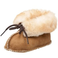 Minnetonka Genuine Sheepskin Bootie (Infant/Toddler)