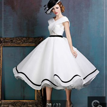 Real picture white ruffled a line lace cap sleeve wedding dresse. Item  Type  Wedding Dresses For Pregnant Women  ... e2606e999846