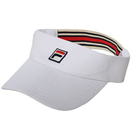 Fila Men's Retro Tennis Visor One Size White