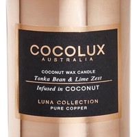 Cocolux Australia Tonka Bean & Lime Zest Small Copper Candle | Nordstrom