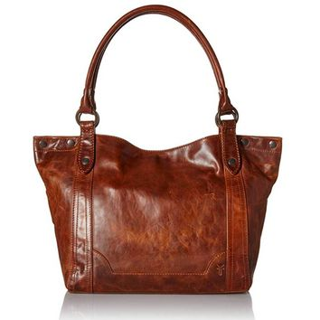 Frye Melissa Shoulder Bag Cognac