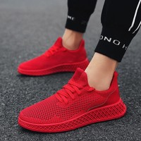 Tenis Masculino 2018 Summer Men Sneakers Breathable Mesh Sport Shoes Men Tennis Shoes Male Stability Athletic Men Trainers Cheap