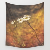 Don't Eat The Daisies  Wall Tapestry by Faded  Photos