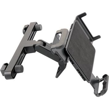 "iSimple - StrongHold Headrest Mount for Most 7"" - 10.2"" Tablets - Black"