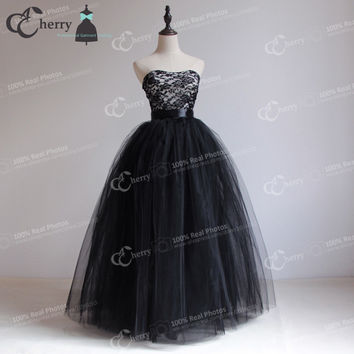 7 Layers Women Long Black Tulle Skirt In Floor Aldult Tutu Maxi Skirt Long Ball Gown Tulle Princess Skirt Plus Size Wedding