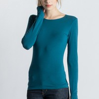 Strength Long Sleeve Bamboo T-Shirt