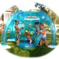 Child's Inflatable Water Sprayer Park