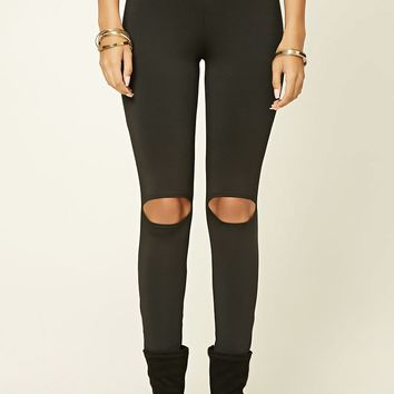 Open-Knee Leggings