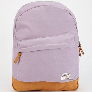 Volcom Supply & Demand Backpack Lilac One Size For Women 24221876201